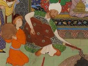 باربد موسیقی دان دوره ساسانی