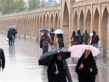 کاهش 58 درصدی بارندگی ها در استان اصفهان